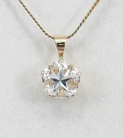 Texas lone star topaz jewelry and stones by darmar enterprises white mason county texas topaz lone star cut pendant in 14kt gold mozeypictures Images