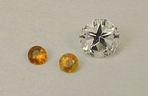 Mason County Topaz with citrine